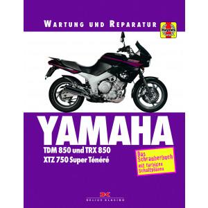 Yamaha TDM 850 / TRX / XTZ 750 Super Tenere Reparaturanleitung Schrauberbuch