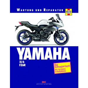 YAMAHA XJ6 / FZ6R Reparaturanleitung Schrauberbuch