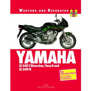 Yamaha XJ 600 S Diversion / SECA II / XJ 600 N Reparaturanleitung Schrauberbuch