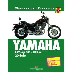 YAMAHA XV Virago 535 / 700 / 750 / 1000 (81-02) - Reparaturanleitung Schrauberbuch