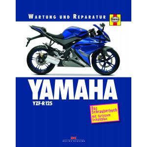 Yamaha YZF-R 125 Reparaturanleitung Schrauberbuch