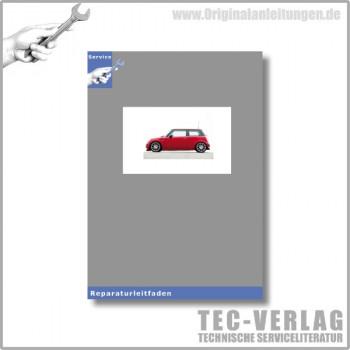 BMW MINI R53 (00-06) Karosserie und Karosserieinstandsetzung - Werkstatthandbuch