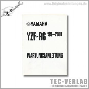 Yamaha YZF-R6 (99-01) - Zusatzwartungsanleitung