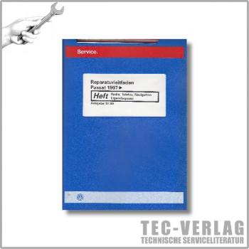 VW Passat B5 (97-04)Radio, Telefon, Navigation Eigendiagnose -Reparaturleitfaden