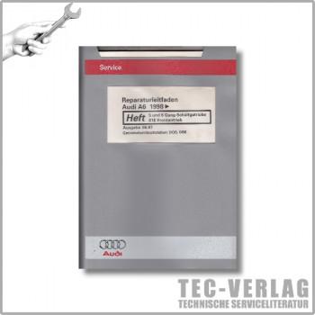 Audi A6 C5 (98-05) 5 u 6 Gang-Schaltgetriebe 01E Frontantrieb Reparaturleitfaden