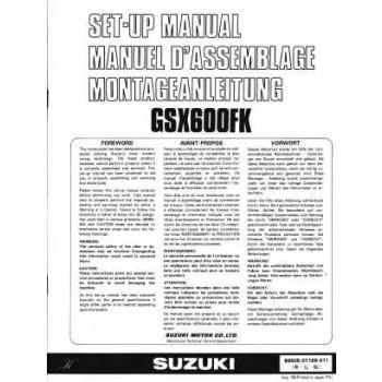 Suzuki  GSX600FK - Montageanleitung