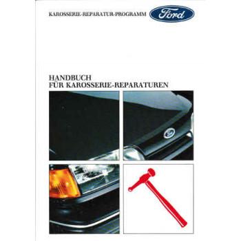 Ford Handbuch für Karosserie-Reparaturen IV