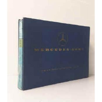 Mercedes 352, 355, 358  - Fahrgestell Ersatzteilliste, Chassis Spare Parts List