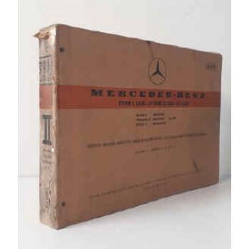 Mercedes L 1418-LP 1418 Fahrgestell-/Aufbau-Liste, Chassis/Body Spare Parts List