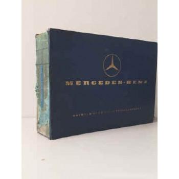 Mercedes L/LA 322/1113 Fahrgestell-/Aufbau-Liste, Chassis/Body Spare Parts List