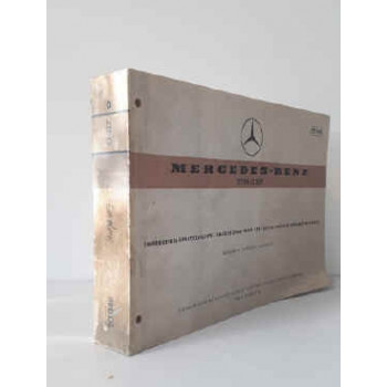 Mercedes Omnibus O 317 Fahrgestell-Ersatzteiliste, Chassis Spare Parts List