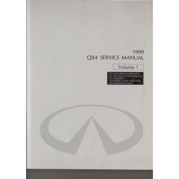 Infiniti QX4 (96-02) Service Manual Volume 1