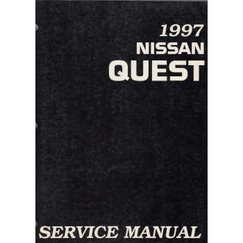 Nissan Quest V40 (93-98) -  Service Manual Edit. 1997