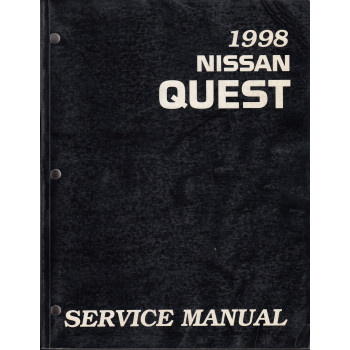 Nissan Quest (93-98) -  Service Manual