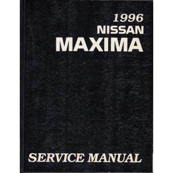 Nissan Maxima (95-00) -  Service Manual Edition 1996