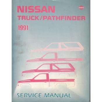 Nissan Pathfinder (86-95) -  Service Manual