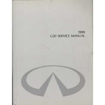 Infiniti G20 (98-02) -  Service Manual