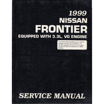 Nissan Frontier (98-00)  mit 3,3l Motor -  Service Manual