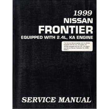 Nissan Frontier (98-00)  mit 2,4l Motor -  Service Manual