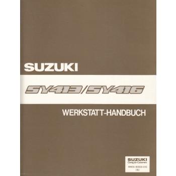 Suzuki Baleno (95-01) - Werkstatthandbuch