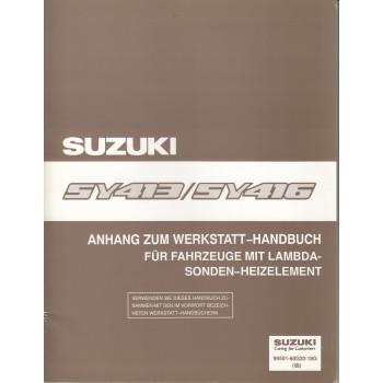 Suzuki Baleno (95-01) -  Werkstatthandbuch Lambda Sonden Heizelement