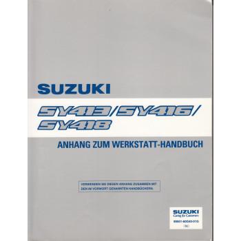 Suzuki Baleno (95-01) - Anhang zum Werkstatthandbuch
