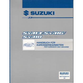 Suzuki Baleno (95-01) - Werkstatthandbuch Karosserie Fließheck / Limousine