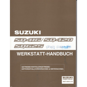 Suzuki Grand Vitara (98-05) - Werkstatthandbuch Getriebe / Differential