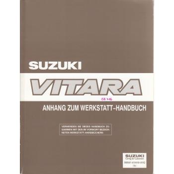Suzuki Vitara (90-98) - Anhang zum Werkstatthandbuch Erweiterung von 1995
