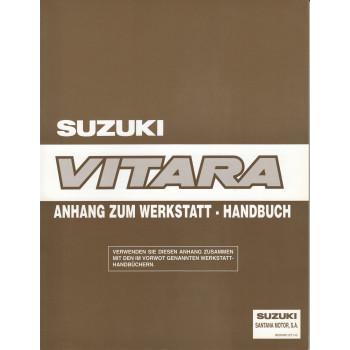 Suzuki Vitara SE 416 (90-98) - Ergänzung Werkstatthandbuch 1997