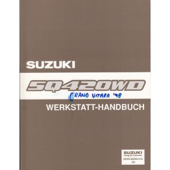 Suzuki Grand Vitara SQ 420 WD (98-05) - Anhang zum Werkstatthandbuch