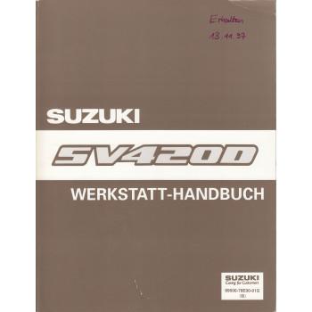 Suzuki Vitara (90-98) - Anhang zum Werkstatthandbuch von 1995