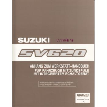 Suzuki Vitara (90-98) - Anhang zum Werkstatthandbuch von 1996