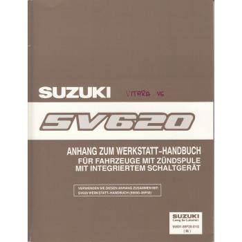 Suzuki Vitara SV620 - Werkstatthandbuch Zündspule mit integriertem Schaltgerät
