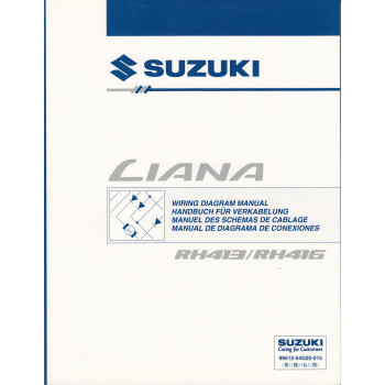Suzuki Liana RH413 / 416 (01-07) - Werkstatthandbuch Stromlaufpläne