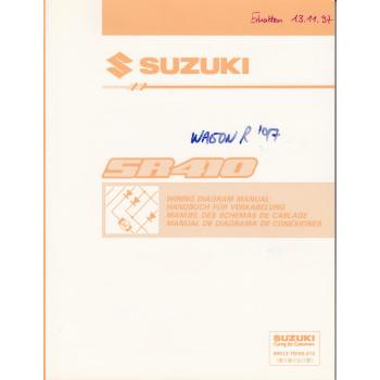 Suzuki Wagon SR410 (97-00) Schaltpläne - Werkstatthandbuch