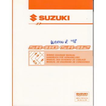 Suzuki Wagon (97-00) - Schaltplan zum Werkstatthandbuch