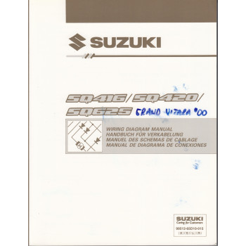 Suzuki Grand Vitara SQ416 / SQ 420 / SQ625 - Werkstatthandbuch Schaltpläne