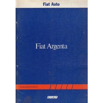 Fiat Argenta (1982)  - Kundendienst Handbuch - Technische Daten
