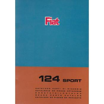 Fiat 124 Sport (1966)  - Ersatzteilkatalog