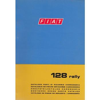 Fiat 128 rally (1971)  - Ersatzteilkatalog Karosserie