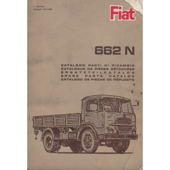 Fiat 662N (1964)  - Ersatzteilkatalog