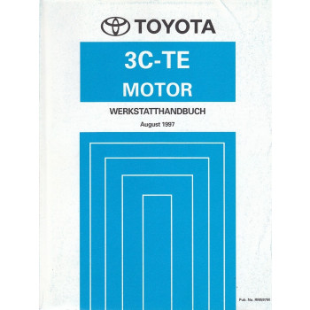 Toyota 3C-TE Motor Picnic (1997)  - Werkstatthandbuch (RM597M)