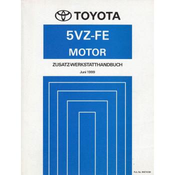 Toyota 5VZ-FE Motor Land Cruiser (1999)  - Zusatz-Werkstatthandbuch (RM703M)