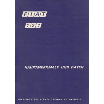 Fiat 127 (1971) - Hauptmerkmale und Daten