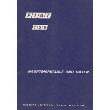 Fiat 128 (1971) - Hauptmerkmale und Daten