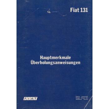 Fiat 131 (1978) - Hauptmerkmale und Daten