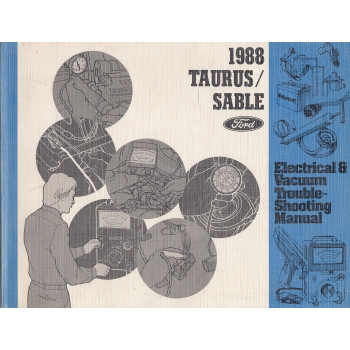 Ford Taurus / Sable (1988)-Electrical & Vacuum Manual Schältplane Handbuch (Eng)
