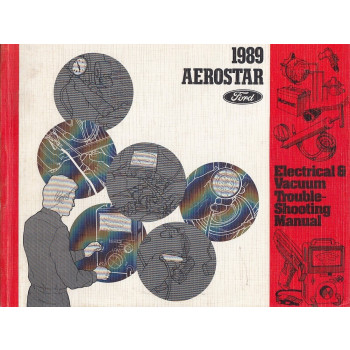 Ford Aerostar (1989) - Electrical & Vacuum Manual Schältplane Handbuch (Eng)