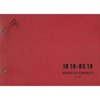 Citroen ID 19 / DS 19 (ab 9.1962) - Werkstatthandbuch NR 498